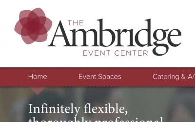 Announcing the Ambridge Event Center redesigned brand