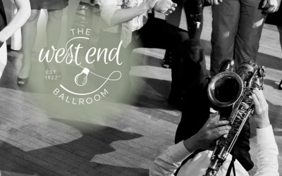 Announcing the West End Ballroom redesigned brand
